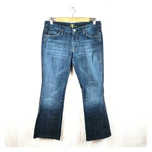 "7 For All Mankind ""A"" Pocket Bootcut Low Rise 
